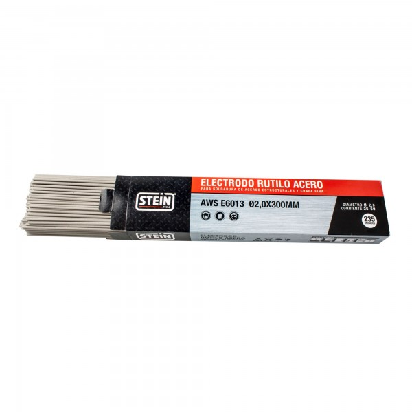 Electrodo rutilo acero 2,5x350   120 un.