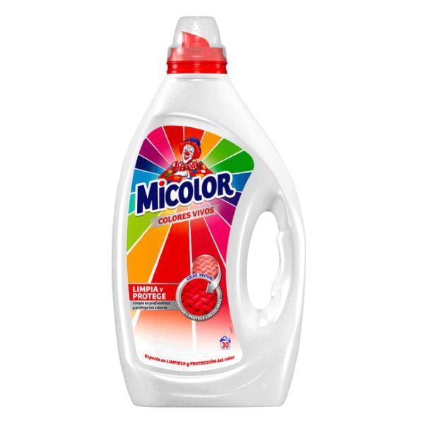 Micolor detergente Colores Vivos 30 dosis