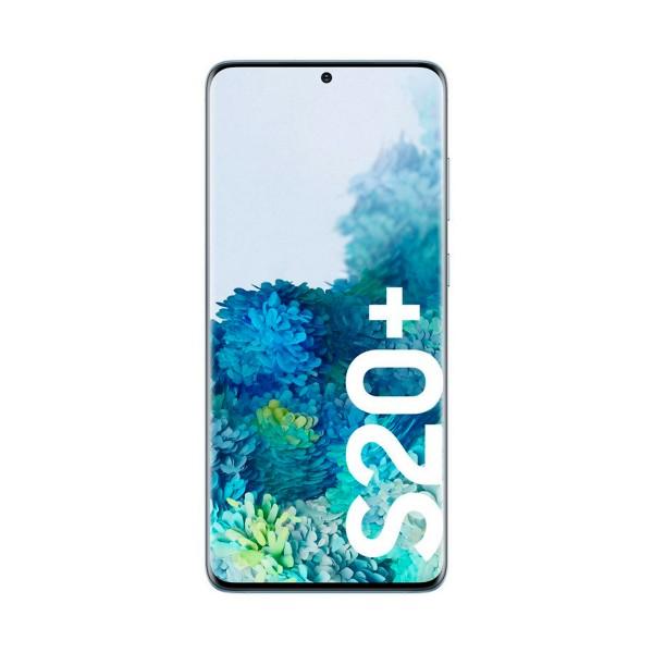 Samsung g985 galaxy s20+ azul móvil dual sim 4g 6.7'' qhd+ octacore 128gb 8gb ram pentacam 64mp selfies 10mp