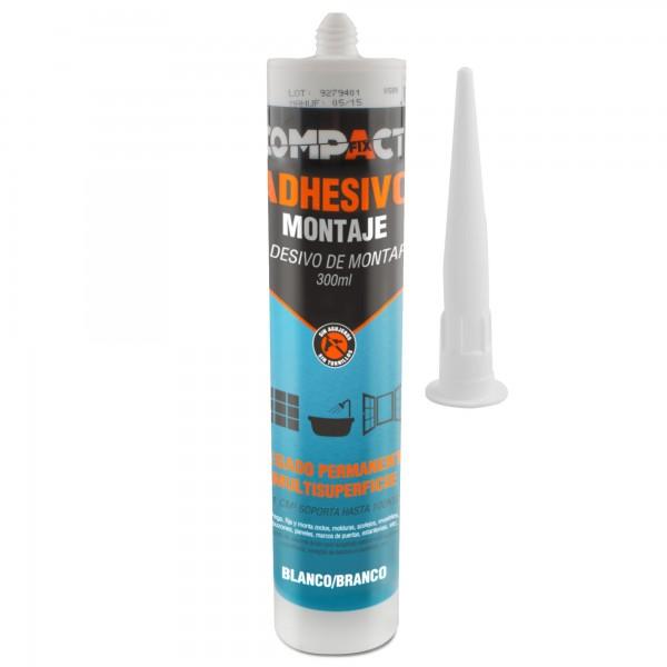 Adhesivo de montaje 300ml compact.
