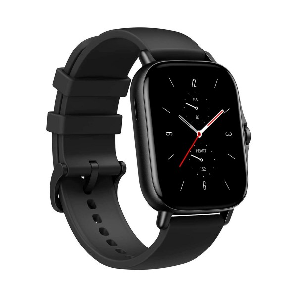 Xiaomi amazfit gts 2 negro smartwatch 1.65'' amoled gps glonass bluetooth biotracker 5atm