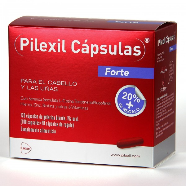 PILEXIL FORTE CABELLO Y UÑAS 100 + 20 CAPS PROMO