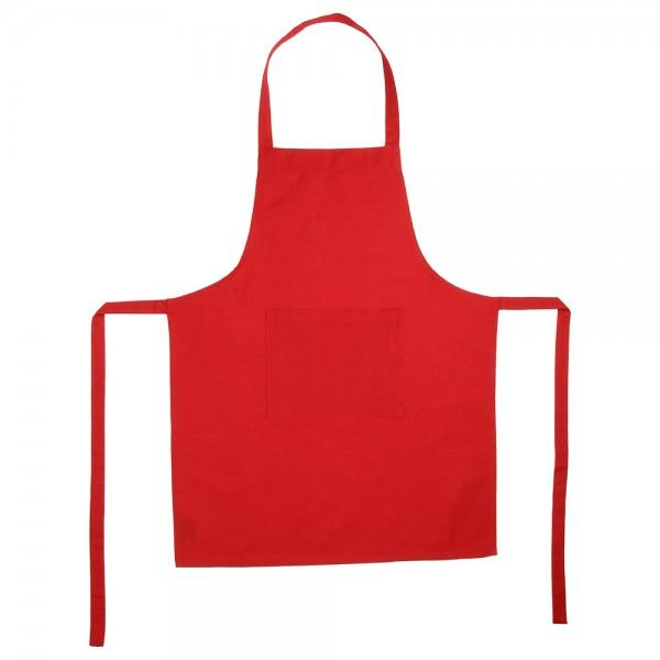 Delantal rojo 60x80cm