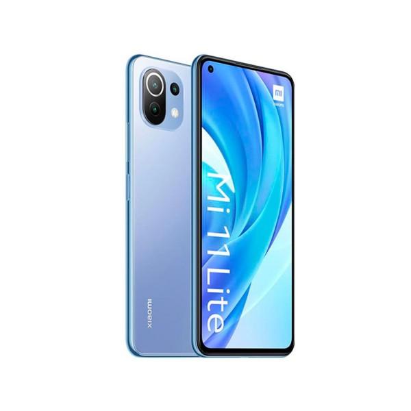 "Xiaomi mi 11 lite azul octacore/6gb/128gb/6.55"" amoled fhd+/dual sim"